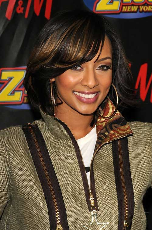 Nice Layered Bob for Black Women