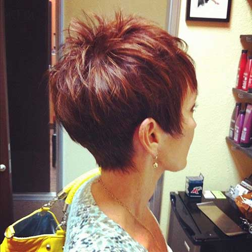 Layered Chic Pixie Trendy Short Haircuts
