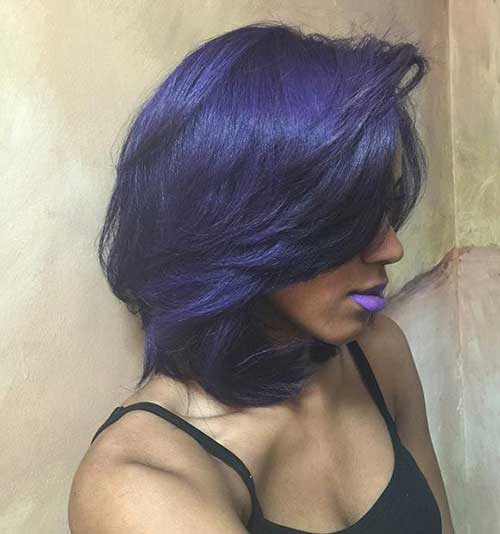 Layered Short Cut Hairstyles for Black Women