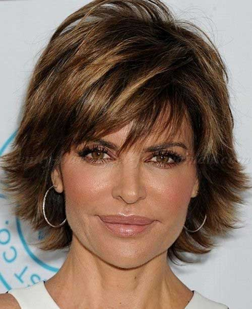 Layered Hairstyles For Short Hair Over 50