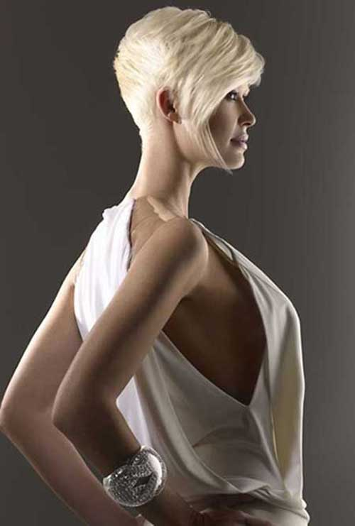 Long Blonde Pixie Hair Style 2014