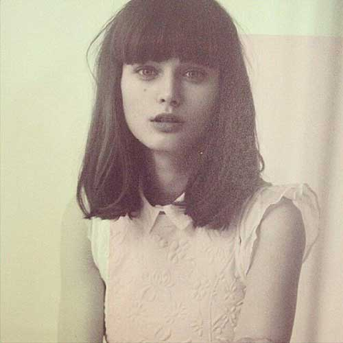 Best Long Bob with Bangs