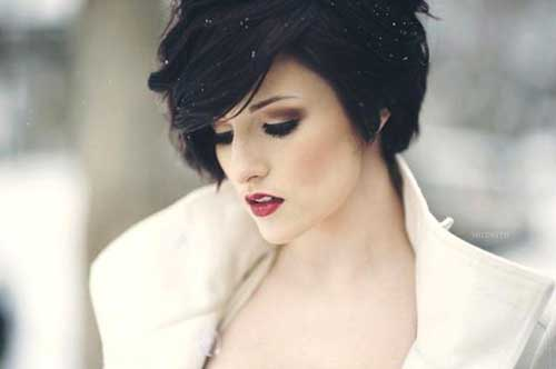 Stylish Long Hair Pixie Cut