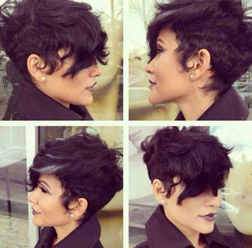 Long Pixie Cut Wavy Hairstyles