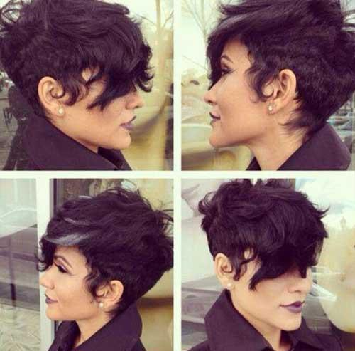Long Pixie Cut Wavy Hairstyles