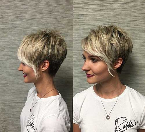 Long Asymmetric Pixie Cut