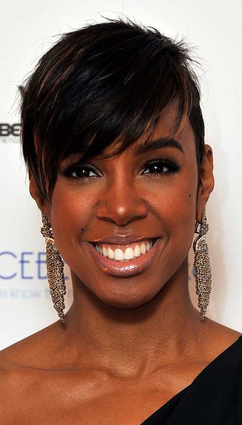 Long Pixie Hairstyles for Black Women Over 50