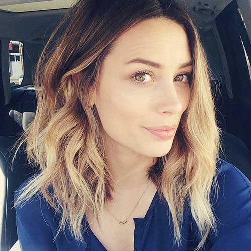 Long Wavy Bob Ombre Hairstyles