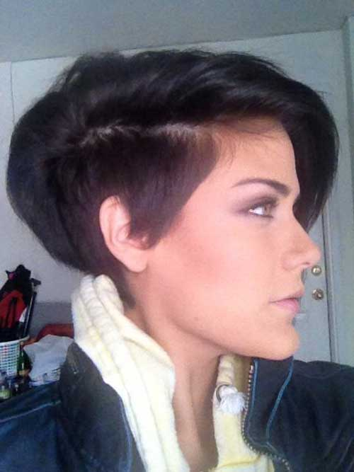 Cool Longer Pixie Hairstyle