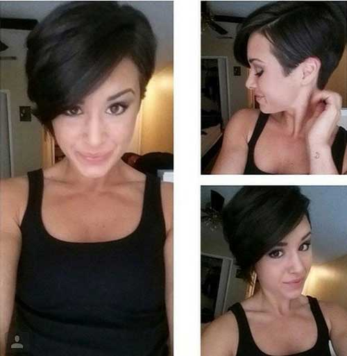 Stylish Longer Pixie Style Haircuts