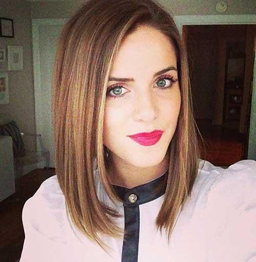 Nice Medium to Short Haircuts 2014