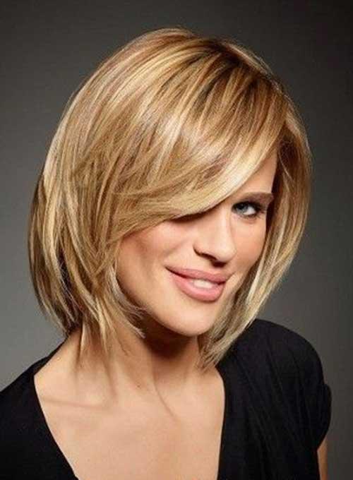Nice Blonde Short Medium Haircuts 2015
