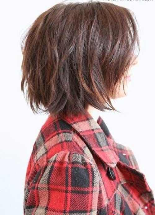 Nice Brown Short Hair Colors