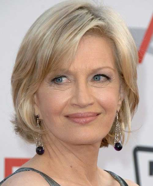 Nice Short Hairstyles for Women over 50