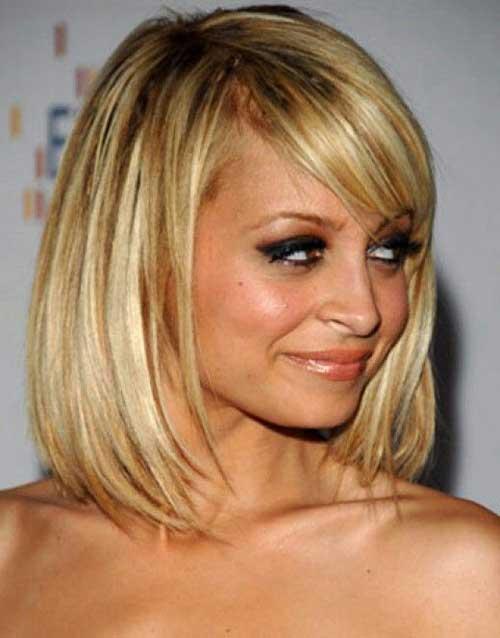 Nicole Richie Blonde Bob Hairstyles