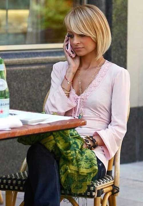 Best Nicole Richie Bob Haircuts
