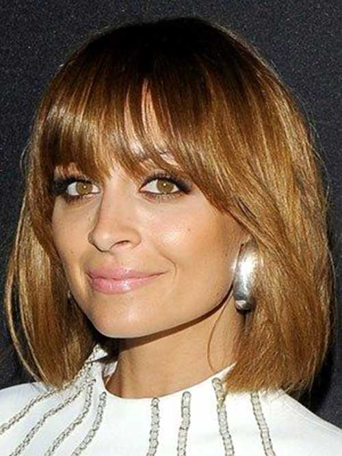 Nicole Richie Brown Bob Hair