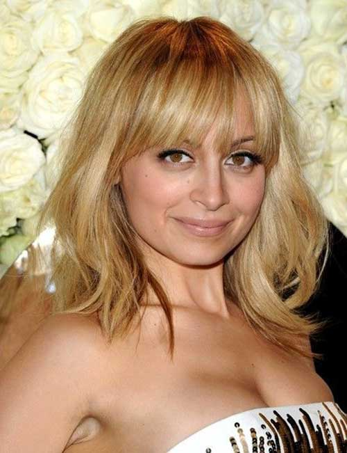 Nicole Richie Longer Bob Haircuts