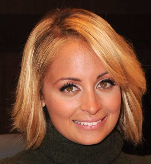 Nicole Richie Nice Bob Hair