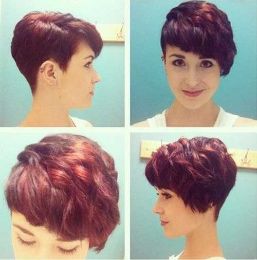 Pixie Cut Thick Wavy Hairstyles