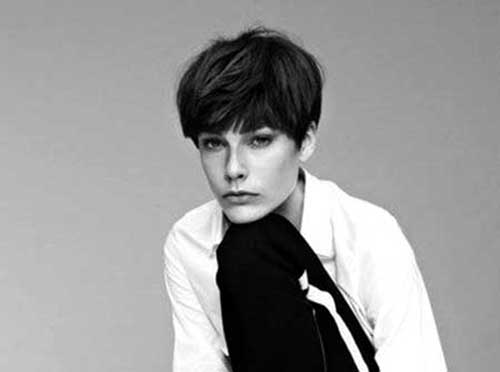 Admirable 10 Pixie Haircuts For Thick Hair Short Hairstyles Amp Haircuts 2015 Hairstyles For Men Maxibearus