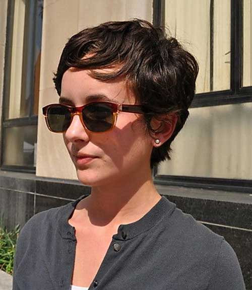 Super Pixie Cuts for Fine Wavy Hair