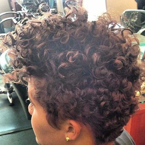 Pixie Haircut Natural Curly Hairstyles
