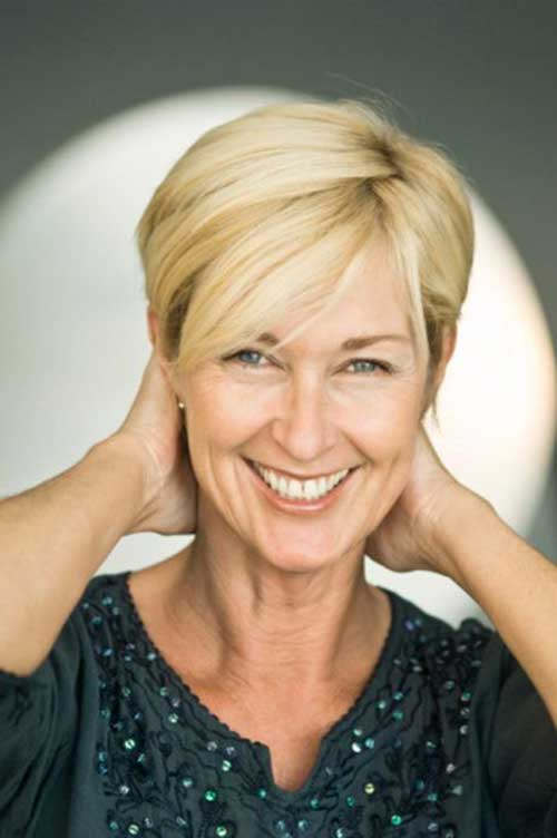 Pixie Short Haircuts for Older Ladies