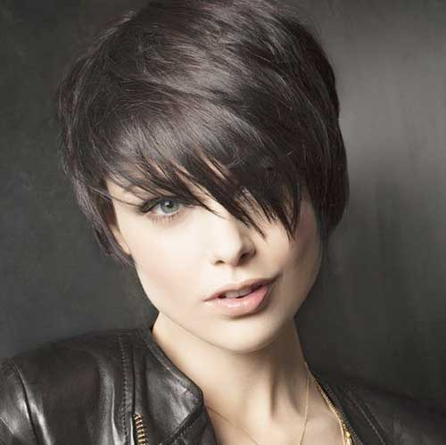 Punk Short Dark Hair
