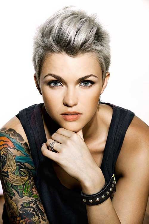 Cool Punk Short Haircuts