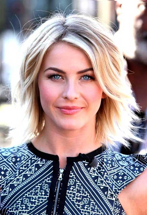 Razor Cut Short Blonde Hair