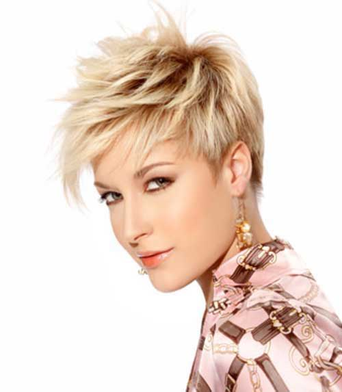 Razor Cuts for Short Blonde Hair