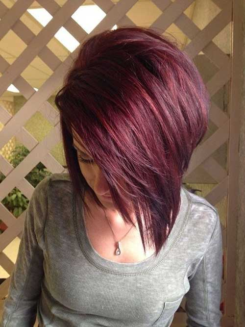 Red Short Bob Hair Colors