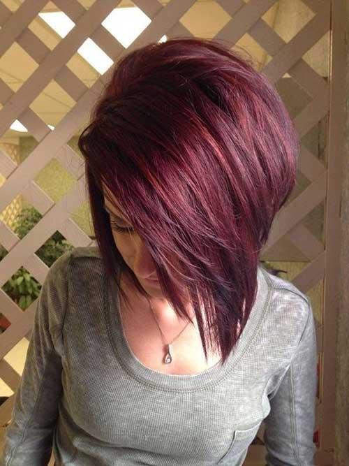 Red Short Bob Hair Colors
