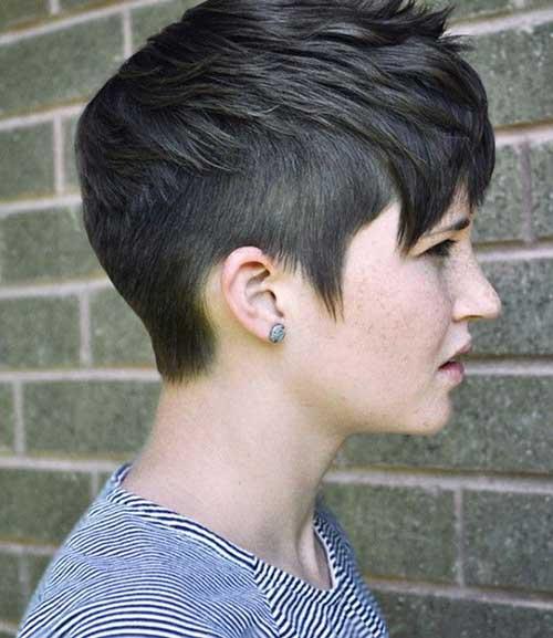 Short And Trendy Undercut Haircuts