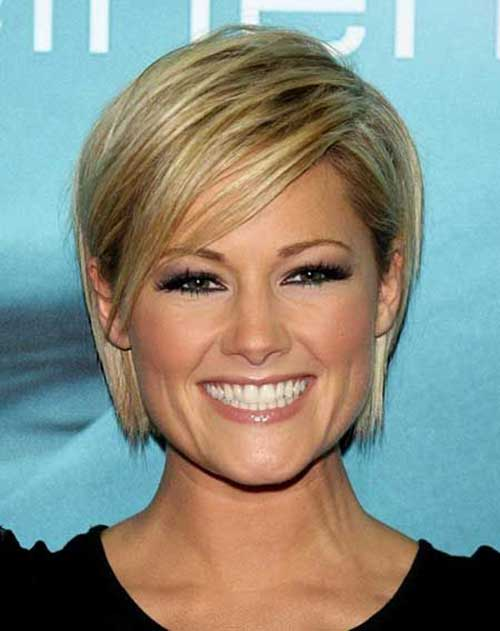Short Blond Straight Hair Styles