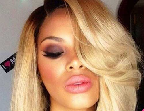 Best Short Blonde Hair On Black Women