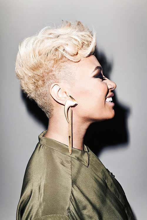 Best Short Blonde Hairstyles for Black Women