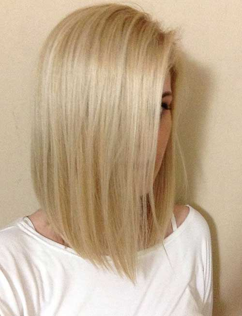 Short to Mid Blonde Hairstyles