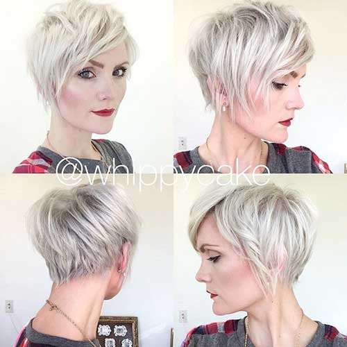 Best Short Blonde Pixie Hairstyles