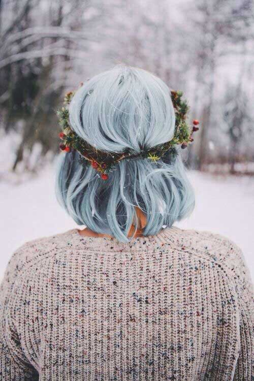 Cute Short Christmas Hairstyles for Short Hair