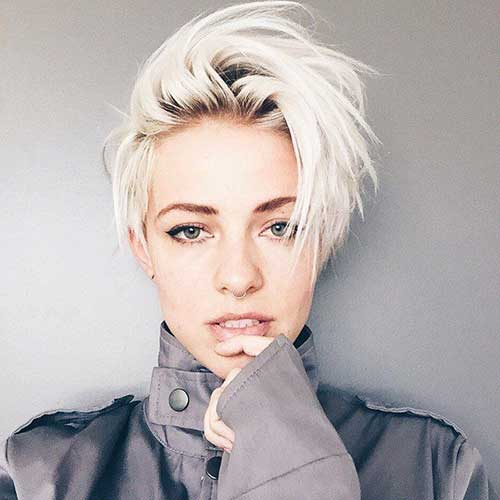 Cool Short Cropped Haircuts