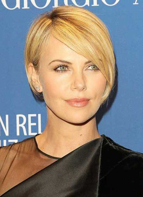 Short Fine Straight Hairstyles 2015