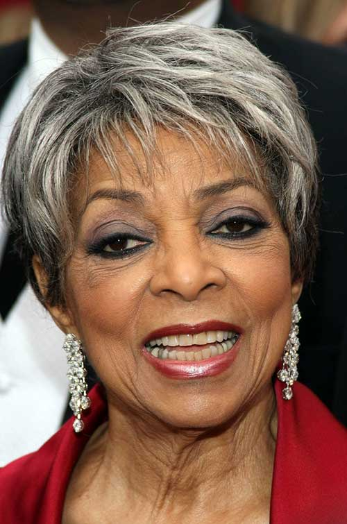 Short Grey Hairstyles for Black Women Over 50