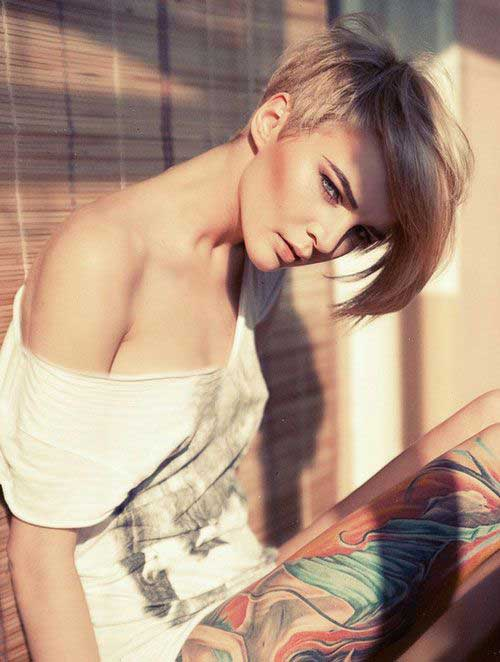 Stylish Short Hair Blond