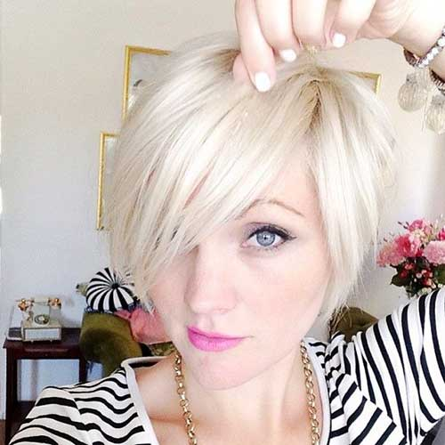 Short Hair Blonde Bob