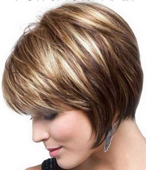 Short Hair Highligths Colors