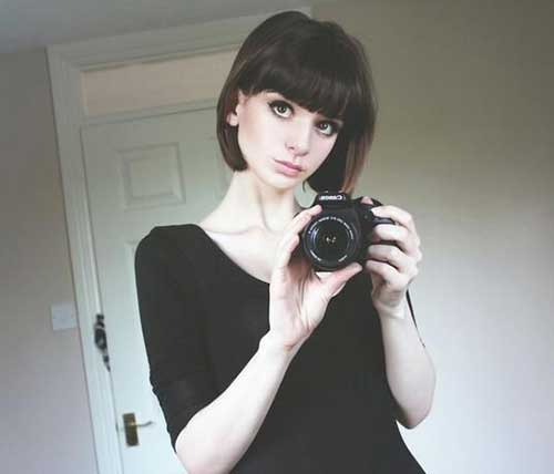 Best Short Hair with Bangs