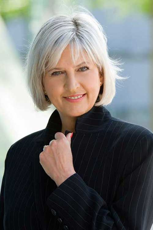 Nice Short Haircuts For Mature Women