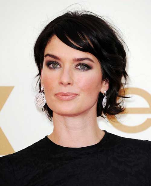 Short Dark Haircuts Over 50